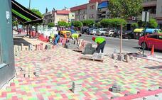 Continúan las obras en el barrio de Los Vicentes de Las Torres de Cotillas