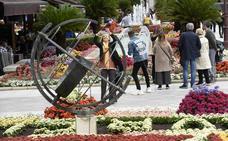 Más de 30 jardines y monumentos florales decoran Murcia por las Fiestas de Primavera