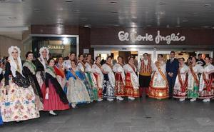 El Corte Inglés celebra su tradicional recepción a la Reina de la Huerta