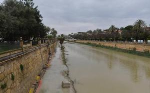 El PSOE critica el retroceso en las obras de Murcia Río tras las últimas lluvias