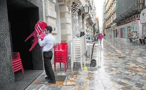 Las lluvias reducen la ocupación de los hoteles un 10% en Semana Santa