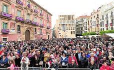 Los pétalos de 15.000 flores honrarán a la Virgen de la Fuensanta en Santo Domingo