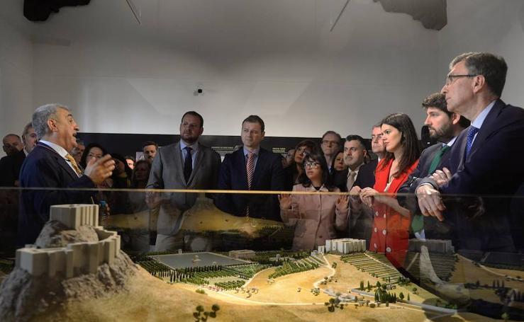 Una exposición recoge los secretos del Castillejo de Monteagudo