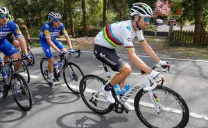 Valverde cae en la Flecha Valona, que corona a Julian Alaphilippe