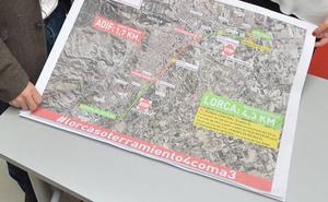 Fomento expropiará 362 fincas en Lorca para el trazado del AVE