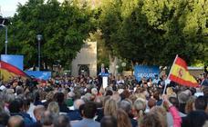 Pablo Casado protagoniza un mitin en Murcia