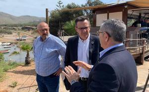 El PSOE culpa al PP de la suspensión de las obras en Portmán y anuncia la visita de Morán
