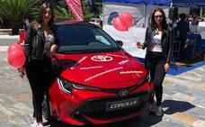 Toyota Murcia vive la radio en directo con el nuevo Corolla