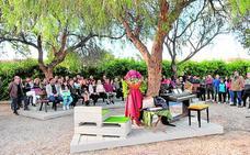Dedican un espacio al aire libre a José Antonio Pujante en el instituto donde fue profesor