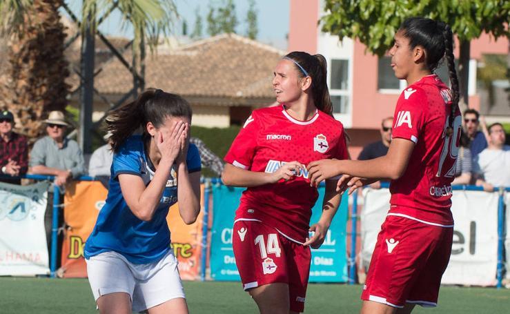 El Alhama Féminas pierde en la primera batalla por el ascenso