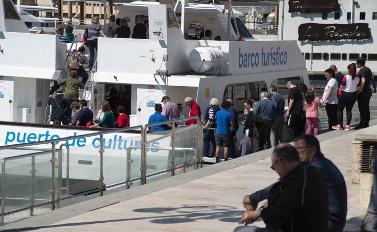 Más de 1.400 turistas de crucero se benefician de un día de mucha actividad cultural en Cartagena