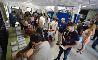 La afluencia a las urnas en la Región sube casi 9 puntos hasta las 18.00 horas