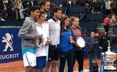 La joven tenista Ariana Geerlings, del Murcia CT, gana el Conde de Godó infantil