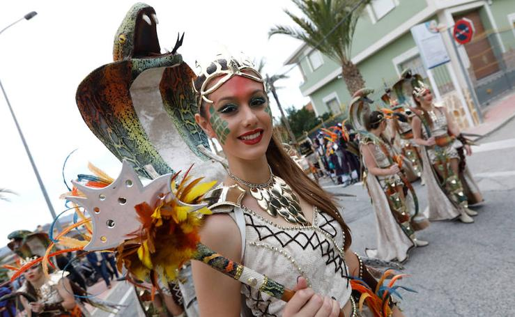 Más de 25 peñas recrean la historia en el casco urbano de Abanilla