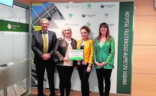 Aguas de Lorca recibe el Premio Escolástico Zaldívar por su esfuerzo en la Prevención de Riesgos Laborales