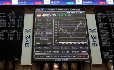 El Ibex-35 sufre su mayor caída desde marzo y se despide de los 9.500 puntos