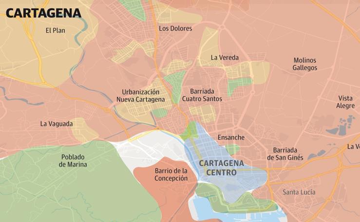 Voto del 28A en Cartagena