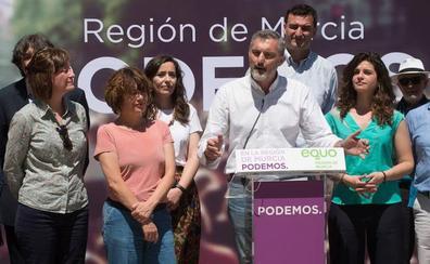 Podemos presenta su candidatura para ser «decisivos» en la Región de Murcia