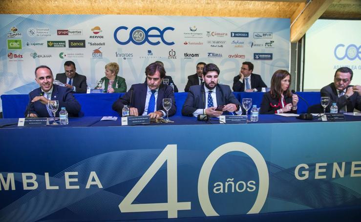 Asamblea General de la patronal cartagenera COEC