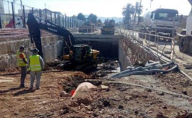 El túnel del AVE en la senda de Los Garres empieza a tomar forma