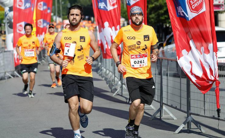 José Antonio Alcaraz e Inmaculada Pérez marcan el ritmo en Murcia