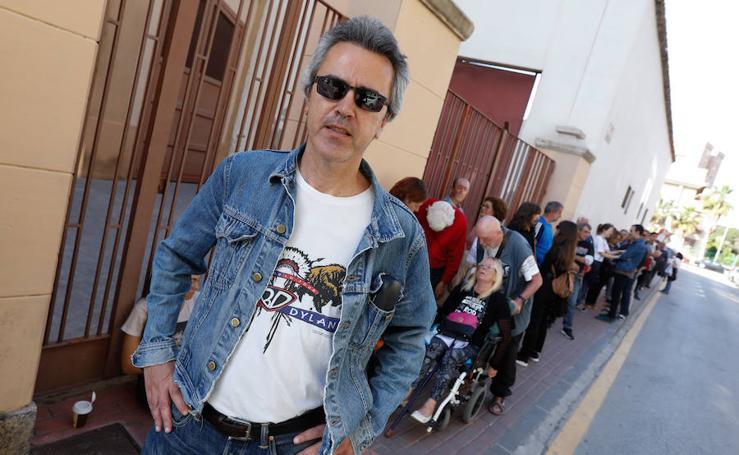 Máxima expectación por Bob Dylan en Murcia