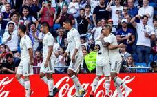 Mariano se viste de Benzema en un Madrid solvente