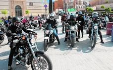 Encuentro de motos 'custom' en La Merced