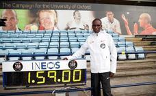 Kipchoge intentará de nuevo el récord de maratón en menos de dos horas