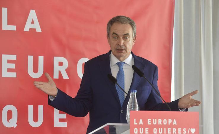 Zapatero: «Nunca mentí con el trasvase del Ebro»
