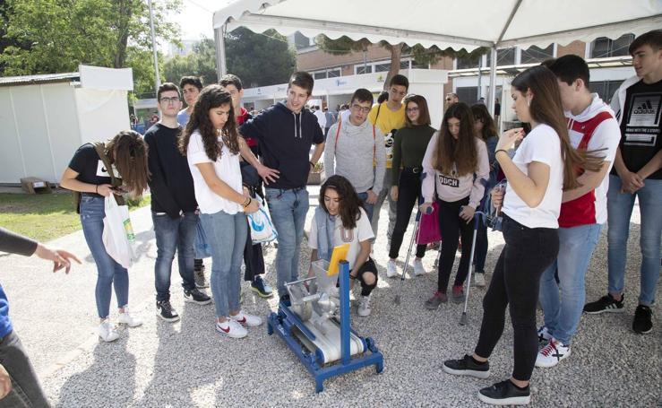 El Campus de la Ingeniería refuerza la promoción de estos estudios entre las chicas