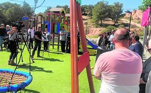 El nuevo parque del barrio de San José lleva el nombre de 'El Palomo'