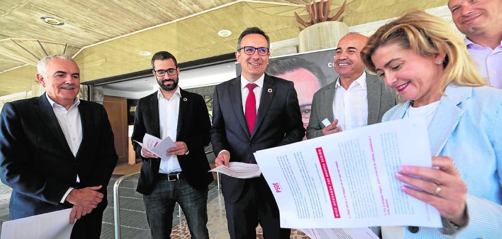 Diego Conesa ofrece al resto de partidos diez pactos sobre objetivos estratégicos