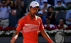 Djokovic vence a Thiem y disputará por tercera vez la final