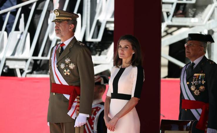 Los Reyes presiden los actos de conmemoración del 175 aniversario de la Guardia Civil