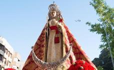 La Fuensanta regresa a su santuario tras la ordenación de Sebastián Chico