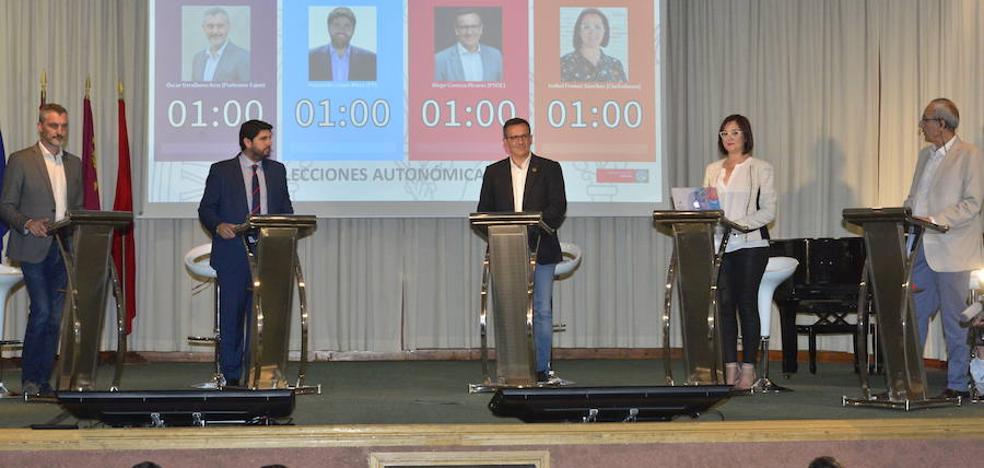 López Miras ofrece un pacto a Cs mientras Conesa y Urralburu ven cerca el cambio