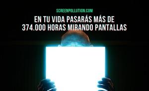 Los españoles pasan 167 días al año frente a una pantalla