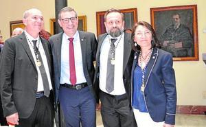 Los tres nuevos vicerrectores de la UMU toman posesión
