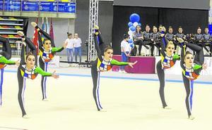 Cartagena acoge un Mundial con 1.700 gimnastas de 28 países