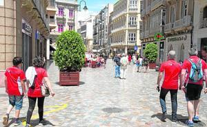 Dos competiciones deportivas completan hasta el domingo los hoteles de la ciudad