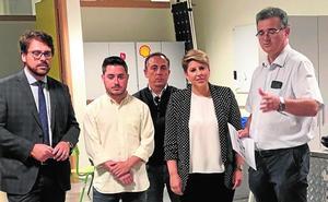 Arroyo quiere recuperar el Barrio de Emprendedores para «retener talento de la UPCT»