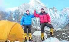 Garranzo ya está a 800 metros del Lhotse