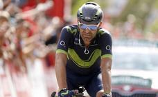 Rojas, con una «sensación agridulce» tras quedar tercero en la sexta etapa del Giro