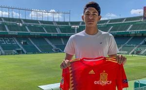 César Moreno, de Santa Lucía a la selección sub-18