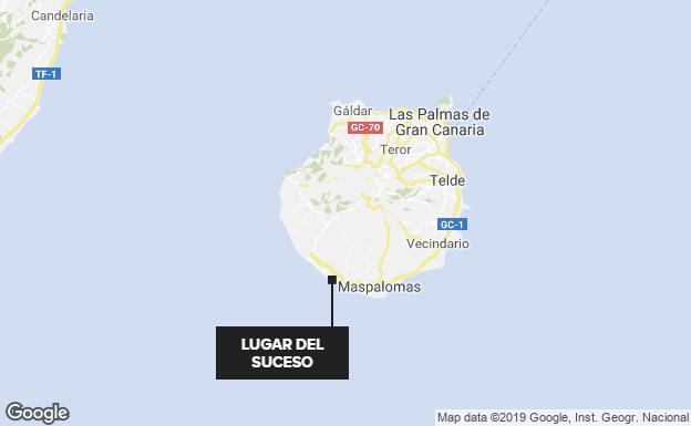 Buscan a un bebé y dos adultos, desaparecidos en una patera en Gran Canaria