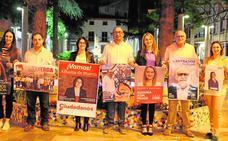 Cuatro mujeres lideran por primera vez las listas en Alhama
