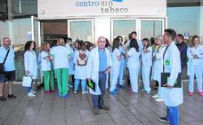 Las protestas de enfermeros llegan al Santa Lucía