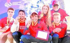 La participación en los Campeonatos de España Universitarios se cierra con un éxito sin precedentes
