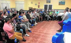 El PP se cita con más de cien agricultores en Águilas